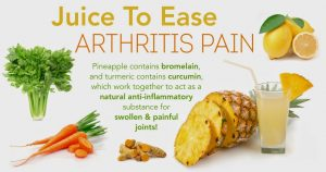 Juice Therapy for Arthritis Treatment